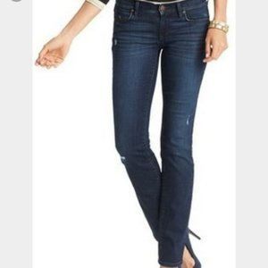 LOFT Modern Straight Jeans Medium Wash